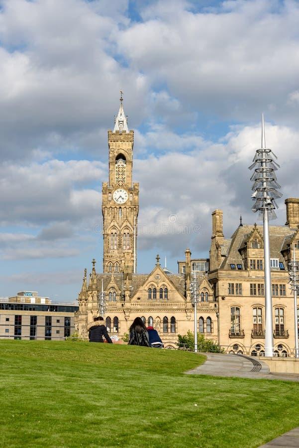 Bradford urząd miasta fotografia stock