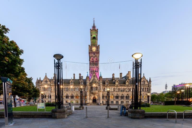 Bradford urząd miasta UK obrazy royalty free