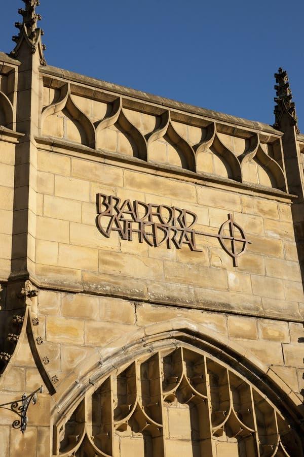 Bradford, West Yorkshire, R-U, octobre 2013, une vue de Bradford Cathedral photos libres de droits