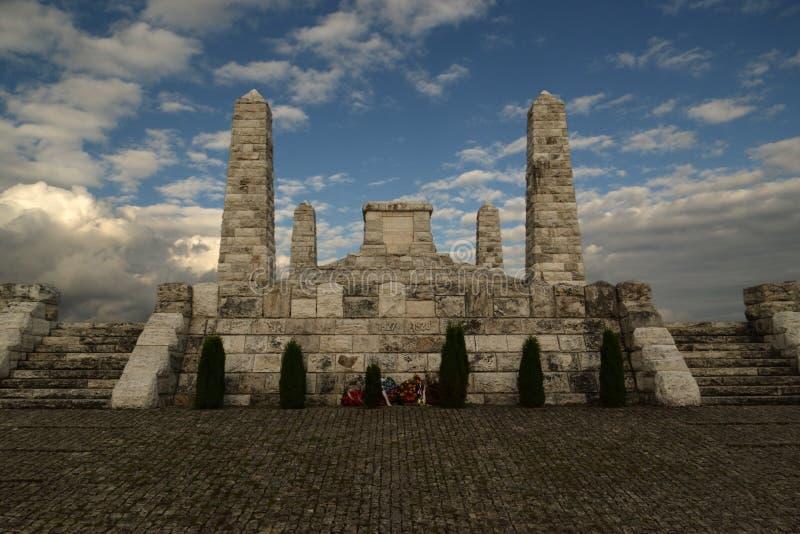 Bradla, Denkmal in Europa stockbilder