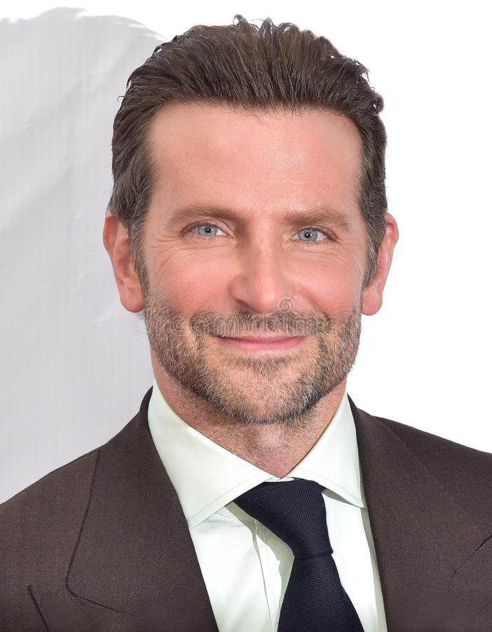 Bradley Cooper at premiere of A `Star Is Born` at Toronto International Film Festival 2018. Actor and Director Bradley Cooper at premiere of A Star Is Born at royalty free stock image