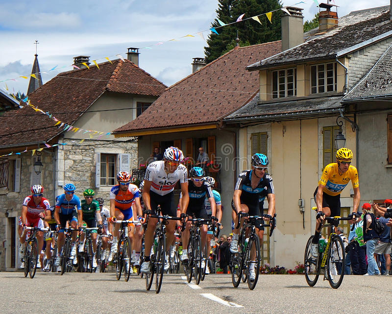Bradley Wiggins - Tour De France 2012 Editorial Photo