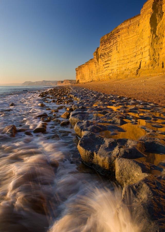 bradstock burton Dorset UK στοκ εικόνες