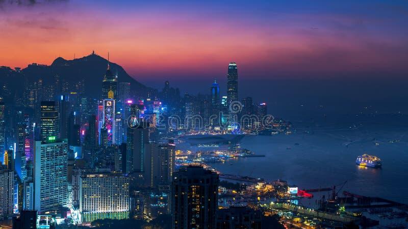 Braemar kulle, Hong Kong fotografering för bildbyråer