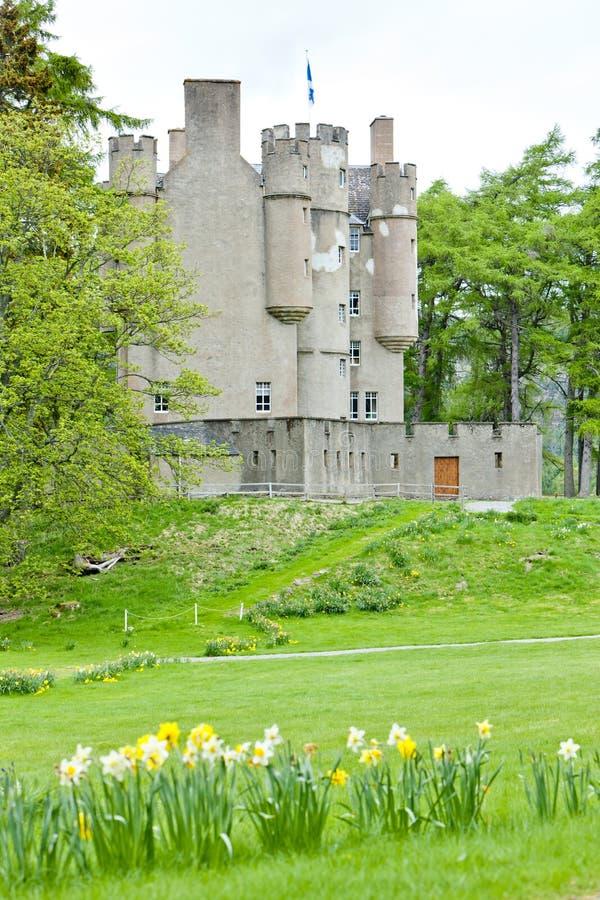 Braemar Schloss stockbild