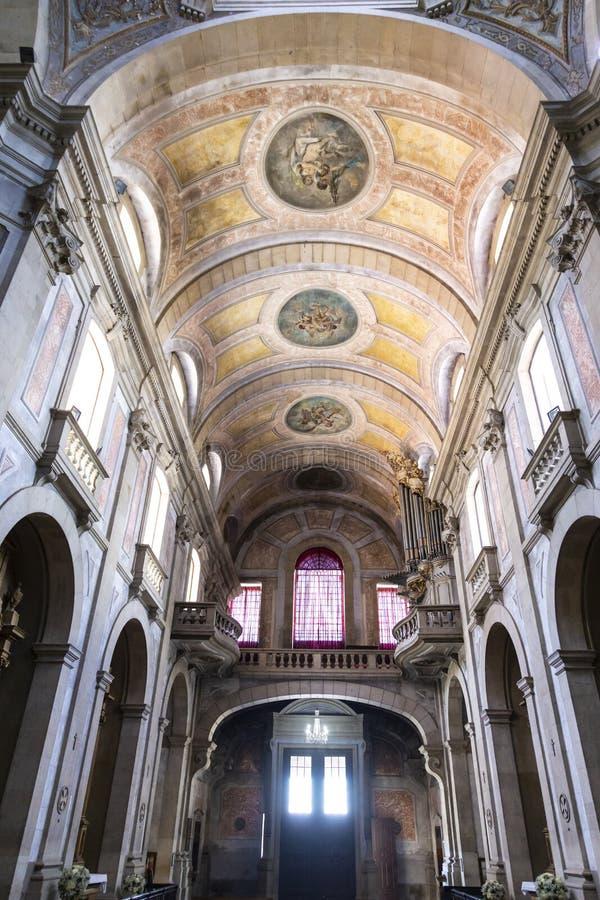 Braga-Kathedrale im Norden von Portugal lizenzfreie stockfotografie