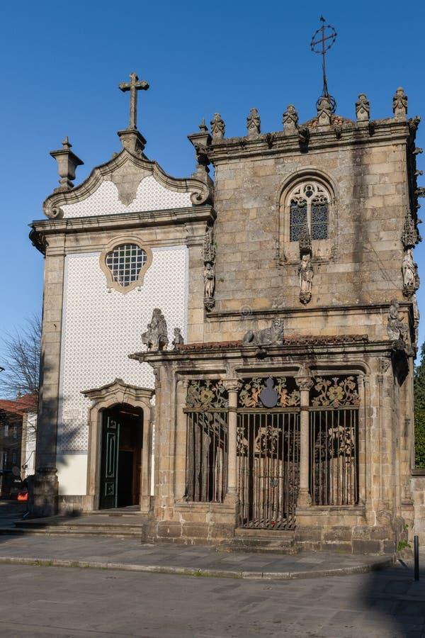 Sao Joao do Souto Church stock photos