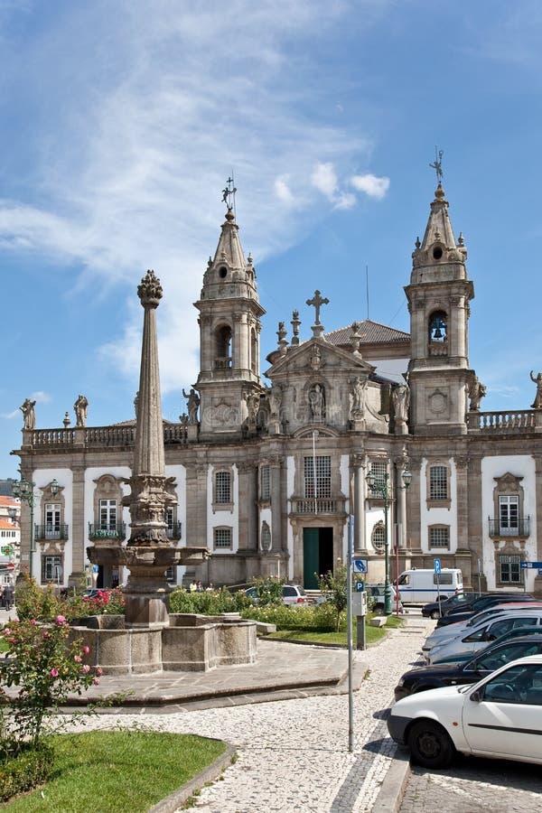 Braga, Portugal Sao Marcos Hospital Church imagem de stock royalty free
