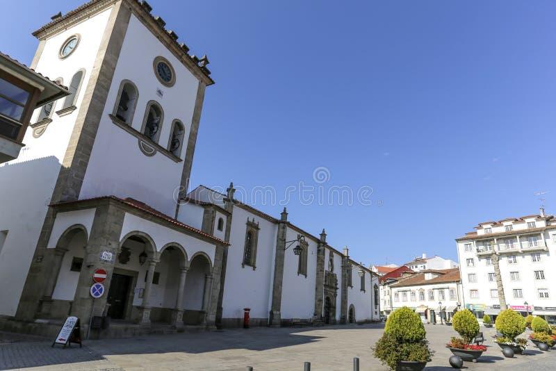 Braganca gammal domkyrka arkivbilder