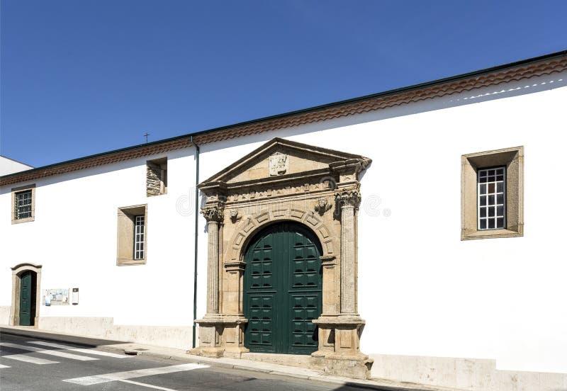 Braganca kościół Santa Clara zdjęcie royalty free