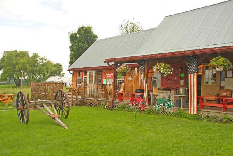 Bragg lantgård Sugar House arkivbilder