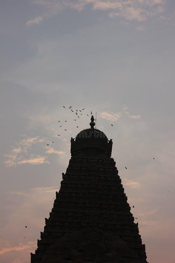 Brahadheeshwara świątynia obrazy royalty free