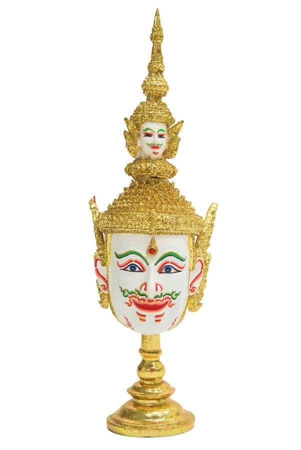 Brahma huvud som isoleras på vit royaltyfri foto