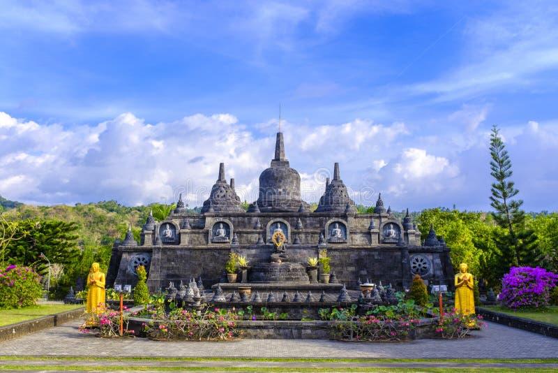 Brahma Vihara Arama Buddhist Temple. The Brahma Vihara Arama Buddhist Temple in Lovina, Bali, Indonesia royalty free stock image