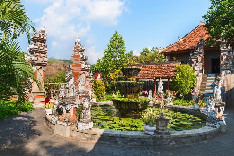 Buddist Monastry na Bali obrazy royalty free