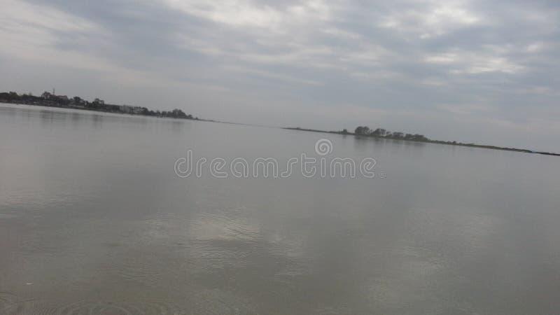 Brahmaputr river India Assam photo. Is big and long river royalty free stock photos