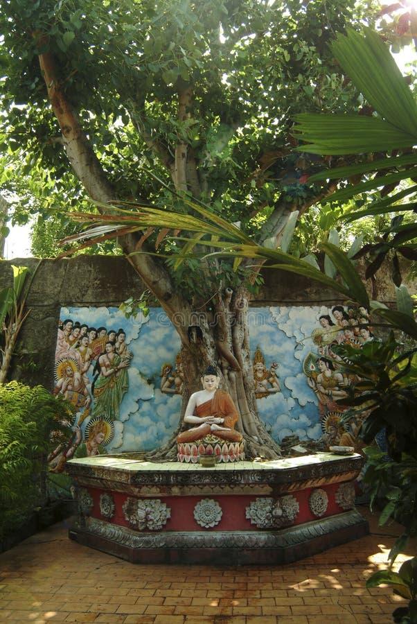 Brahmavihara-Arama, ένας βουδιστικός ναός στο Μπαλί στοκ φωτογραφίες