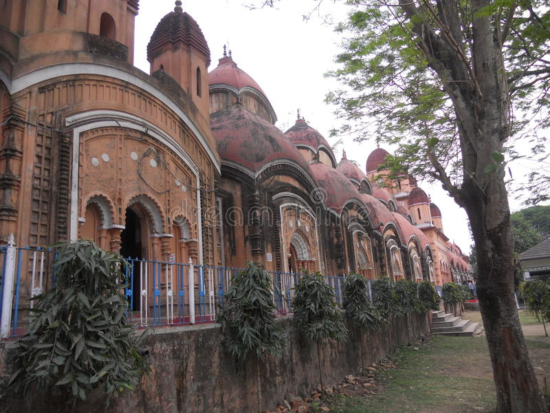 Brahmo Moyee Kali Mandir immagini stock libere da diritti