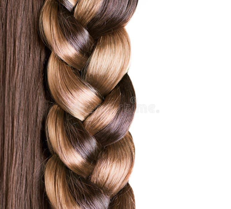 Braid Hairstyle stock image