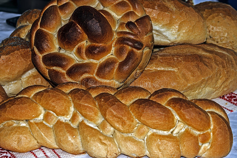 Download Braided bread stock photo. Image of dinner, cereal, braided - 39514128