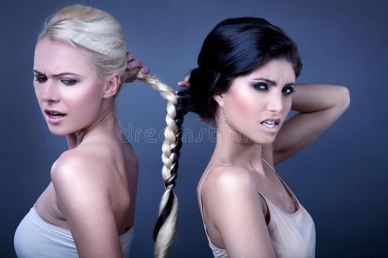 Braided together royalty free stock image