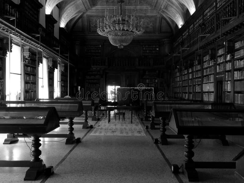 Braidense biblioteka w Milano obrazy stock