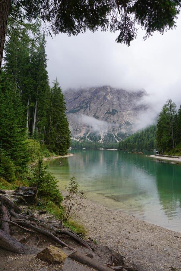 braies Di Lago fotografia royalty free