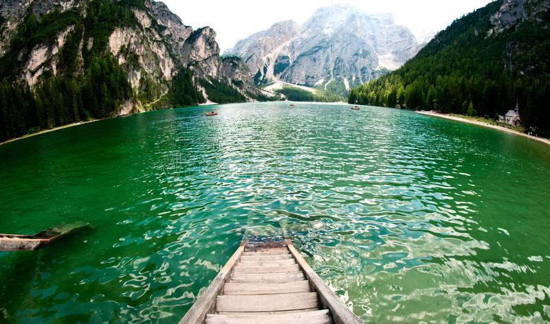 braiesitaly lake arkivfoton