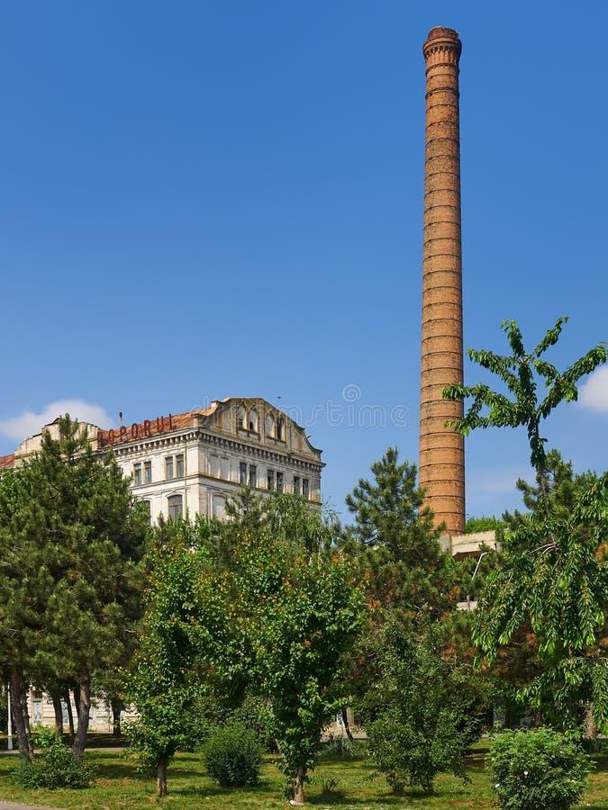 Braila, Румыния, мельница Violattos в Braila стоковые фотографии rf