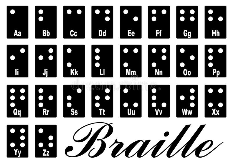 braille ilustracji