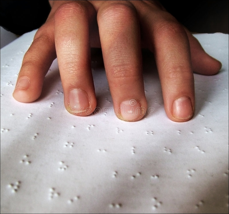 Braille royalty free stock photos