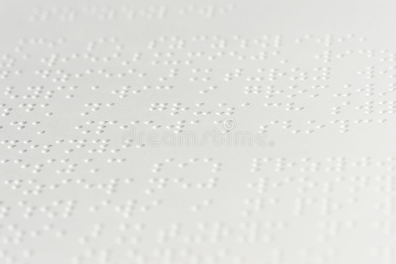Download Braille text stock photo. Image of dots, help, impaired - 1491346