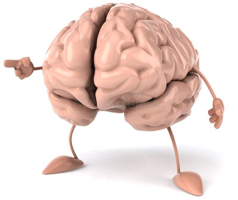 Download Brain stock illustration. Image of creation, senses, conscious - 17729268