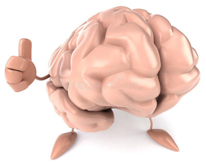 Download Brain stock illustration. Image of mentality, mind, mental - 17729275