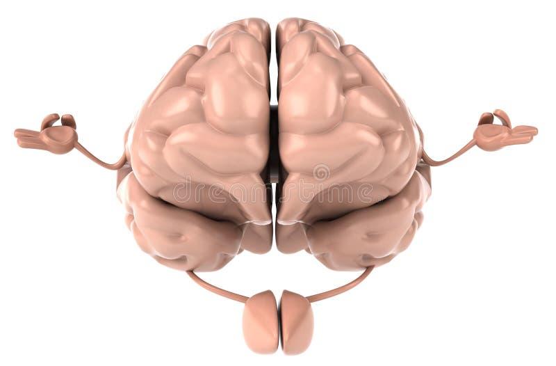 Download Brain stock illustration. Image of intelligence, mind - 18436157