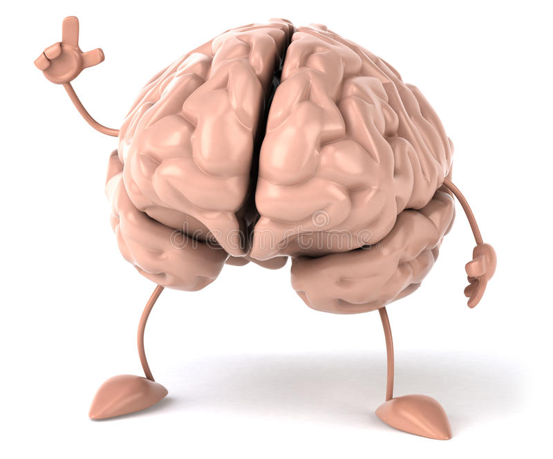 Download Brain stock illustration. Image of intellectual, intellect - 25073012