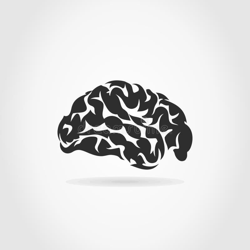 Brain6 ilustração do vetor