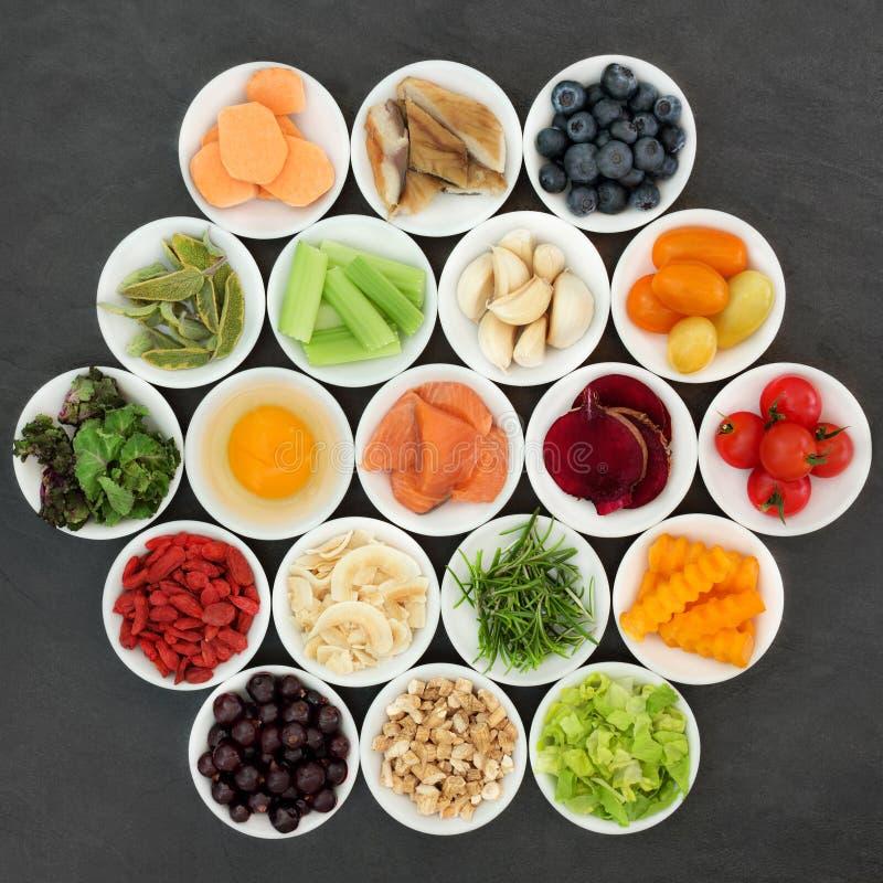 Brain Boosting Health Food fotografie stock