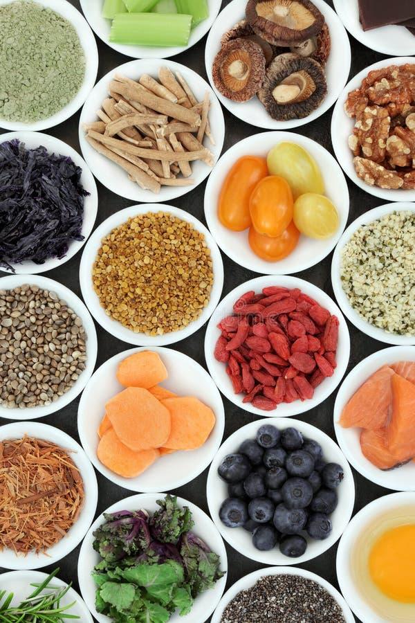 Brain Boosting Super Food fotografie stock libere da diritti