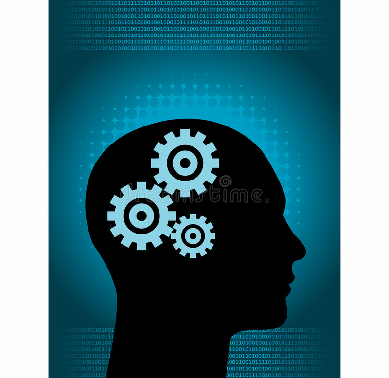 Download Brain Clockwork Royalty Free Stock Images - Image: 6279419