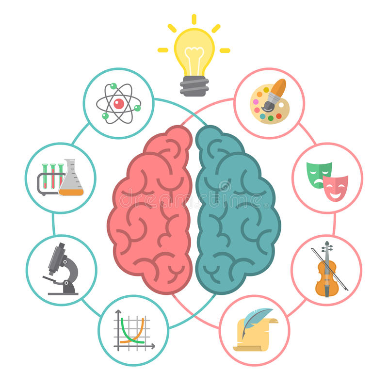 Brain Concept stock illustration
