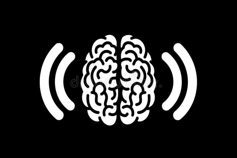 Brain Concussion and traumatic brain injury. Vibration in the head after shock, collision and crash. Medical vector illustration vector illustration