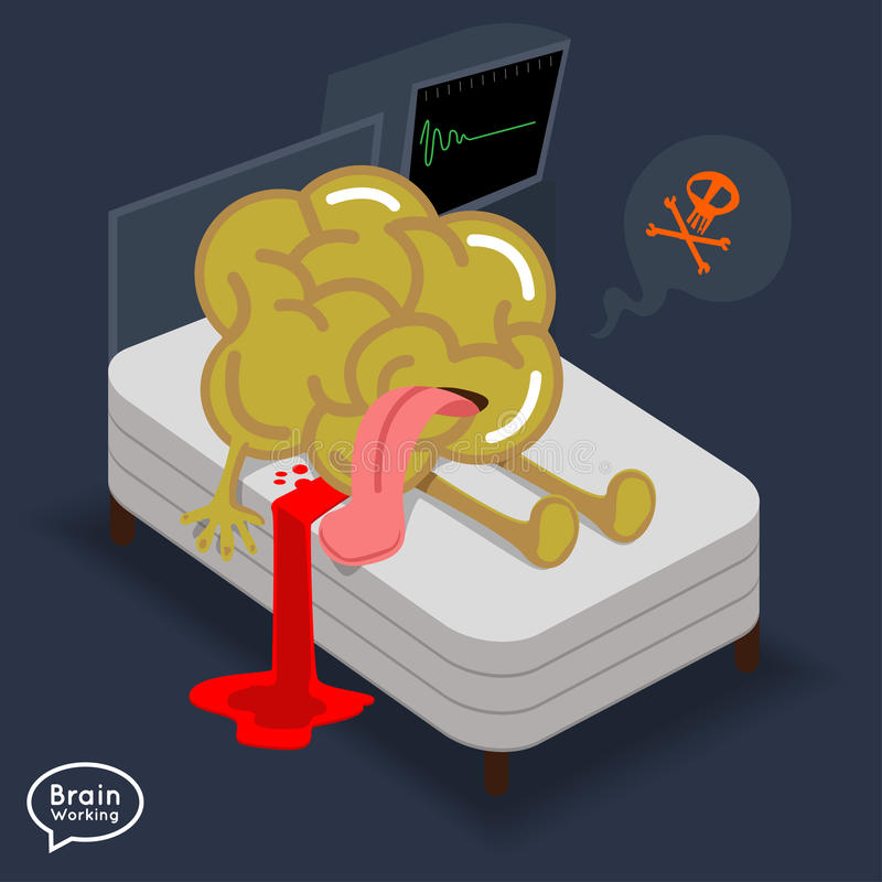 Brain royalty free illustration