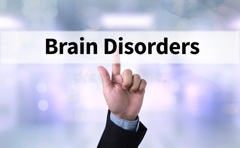 Brain Disorders imagens de stock royalty free