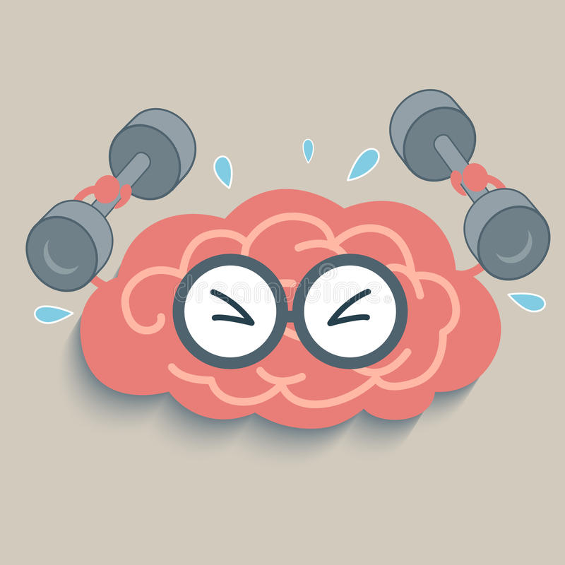 Brain Fitness illustration de vecteur