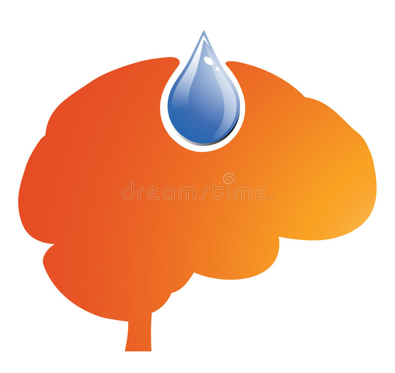 Download Brain Fuel stock vector. Illustration of filling, idea - 32230280