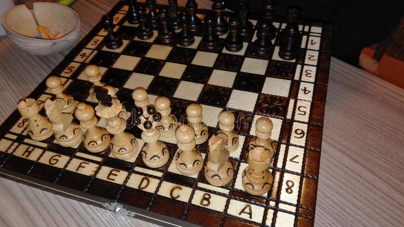 Download Brain game stock photo. Image of table, game, wood, strategy - 105364608