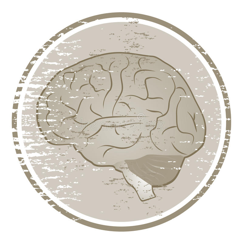 Brain Icon Royalty Free Stock Photography