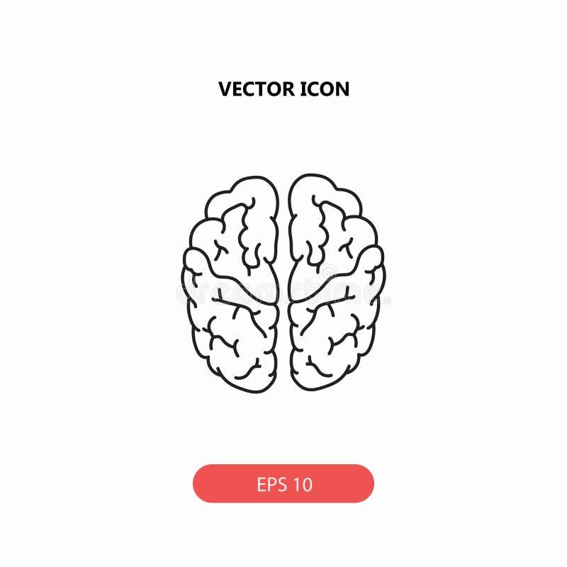 Brain Icon imágenes de archivo libres de regalías