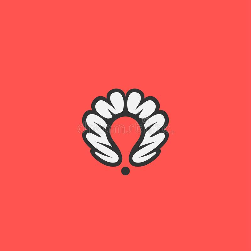 Crative point icon stock illustration